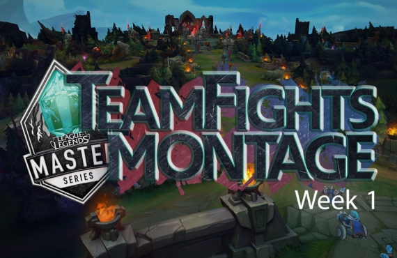 LMS Teamfights Montage Week1
